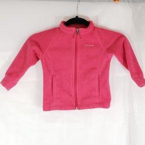Columbia full zip sweater 18-24 months